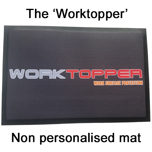 'Worktopper' Non Personalised Mat
